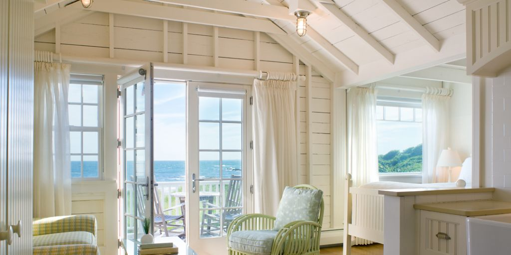 Beach cottage rooms at Castle Hill Inn in Rhode Island